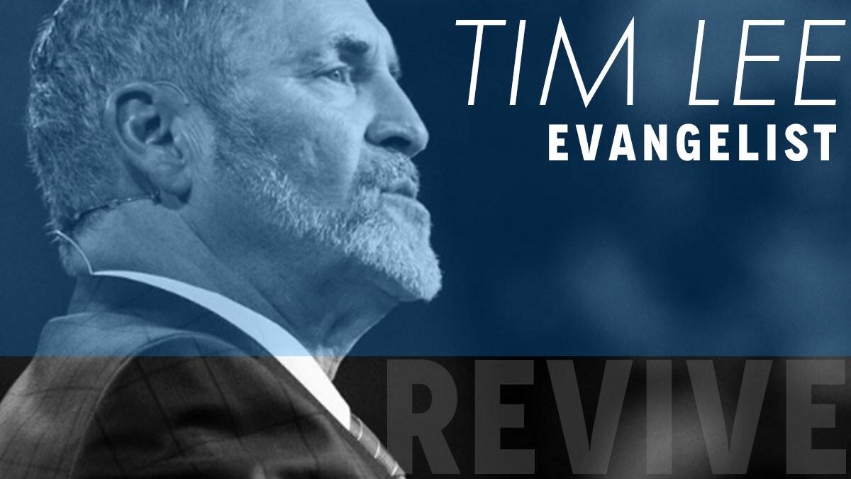 Evangelist TIM LEE : Guest Speaker